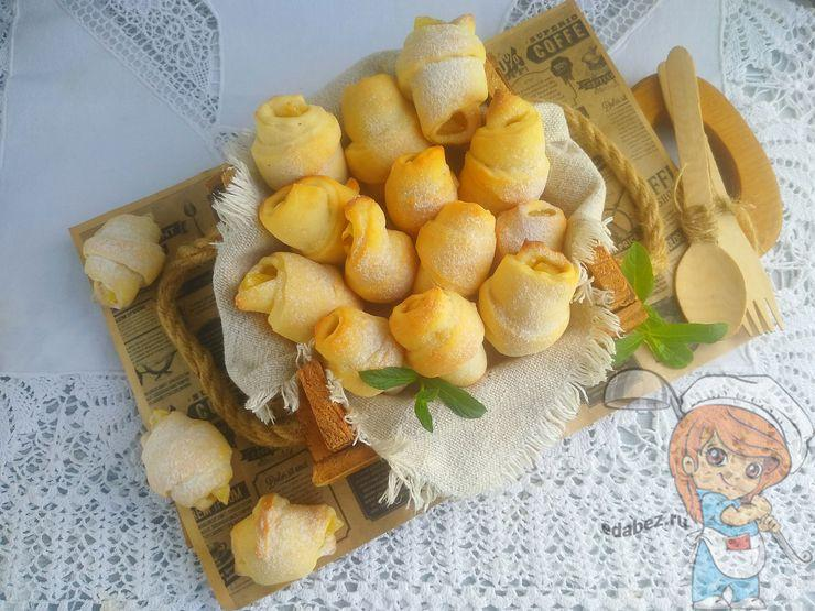 Рецепт рогаликов на кефире без дрожжей