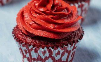 Кексы Красный бархат - рецепт с фото пошагово