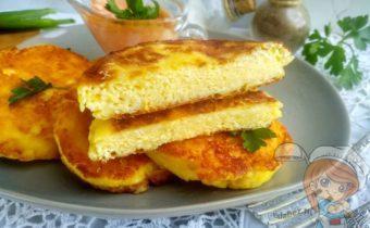 Сырники с сыром и творогом