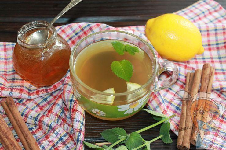 Компот из лимонов и мяты
