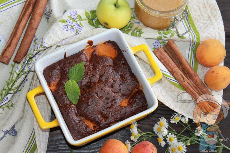 Вкусный и простой пирог с яблоками и корицей