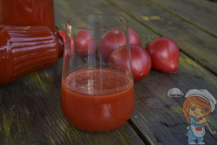Как сделать домашний томатный сок