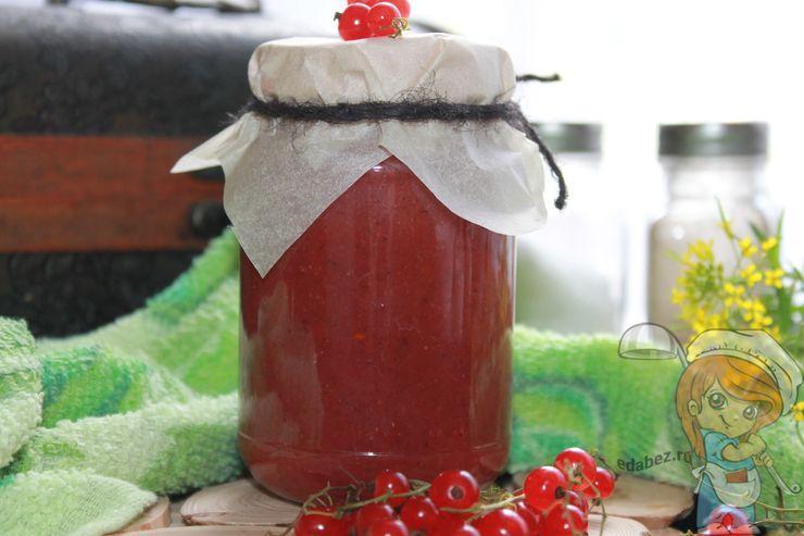 Как приготовить соус из красной смородины
