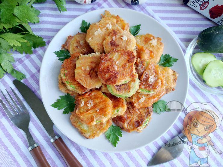 Кабачки в кляре - рецепт пошагово с фото