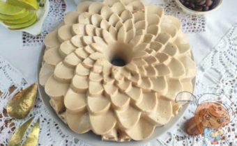 Торт Капучино без выпечки с желатином