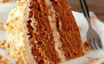 Тыквенный торт - самый лучший рецепт